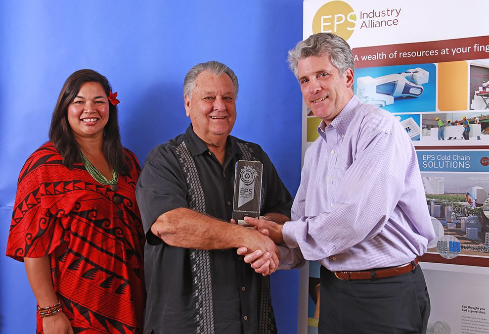 Pacific Allied Products Awarded Eps Industry Alliances 2016 Excellence in Eps Recycling Award