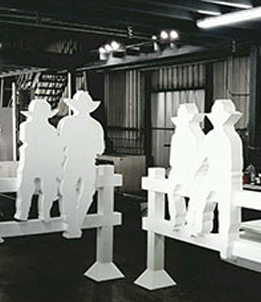 Statue Created With Foam