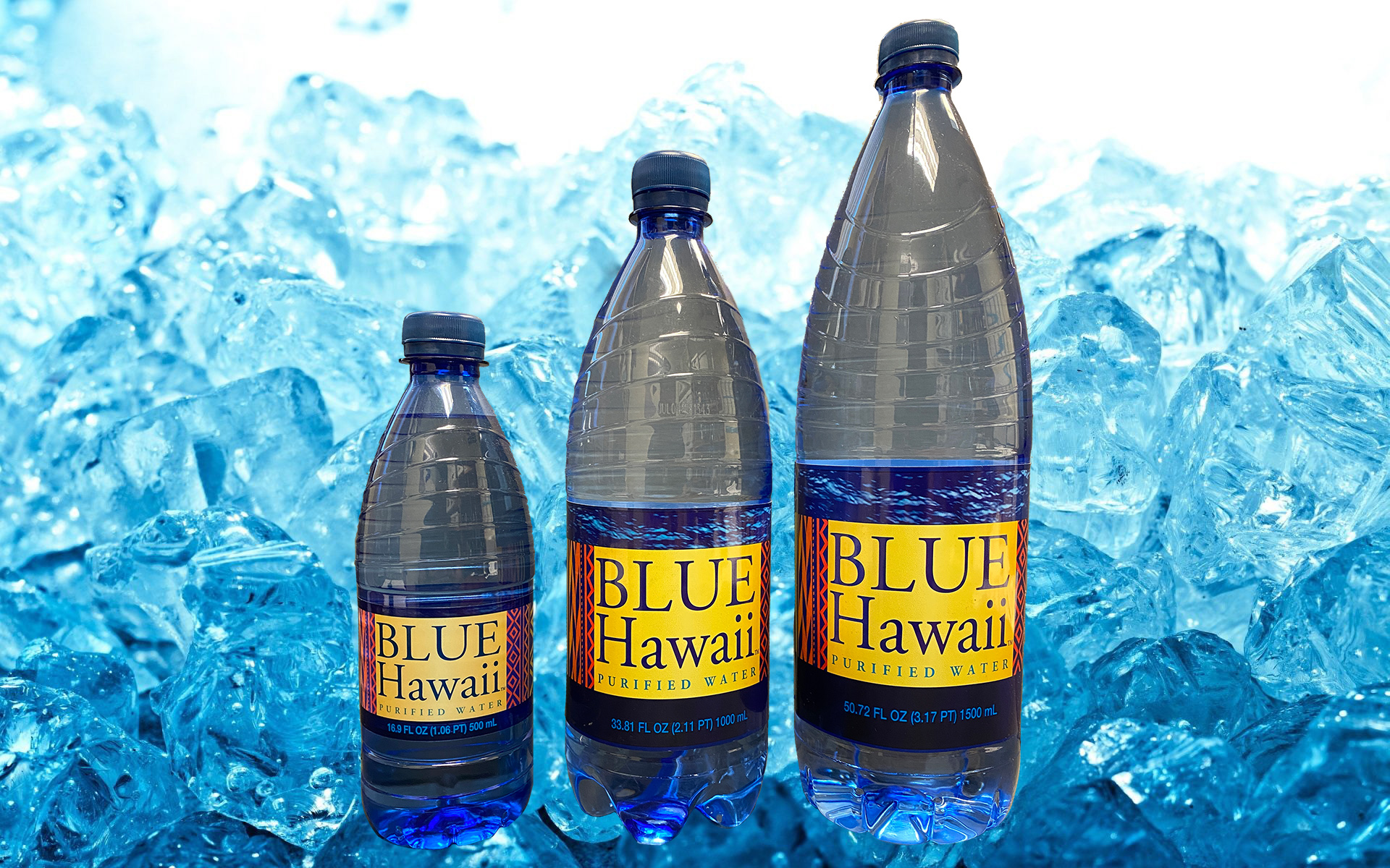 Blue Hawaii water Bottles